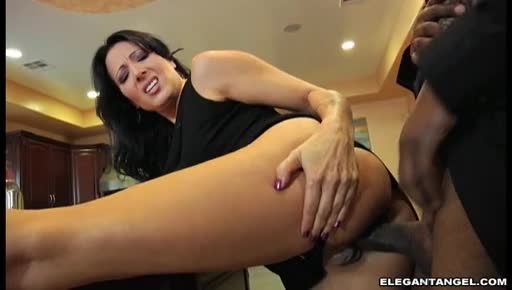 Ryan and angel pussy eating on couch