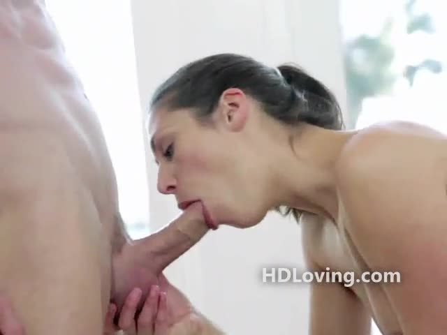 Brunette stretched dildo and strangers cock xxxbunker