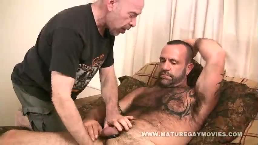 Mature men getting fucked