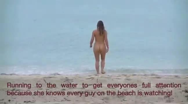 Nude beach circle jerk bad