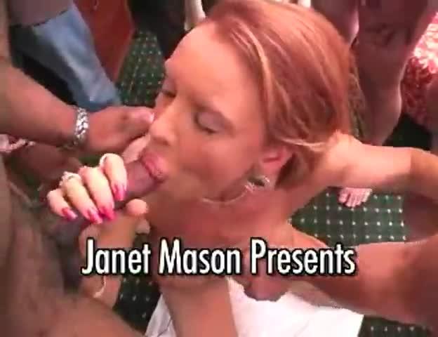 Few these janet mason bukkake sie mir