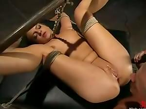 mark fucks sarah with a spreader bar in between her legs : xxxbunker ...: xxxbunker.com/9519794