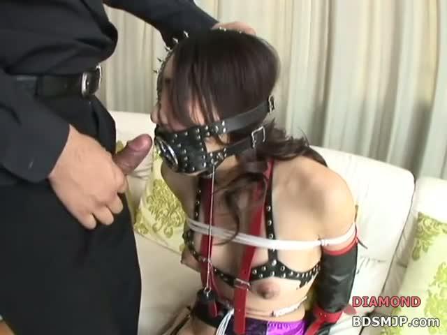 Hogtied ring gag fuck maschine and master throatfuck intro 3