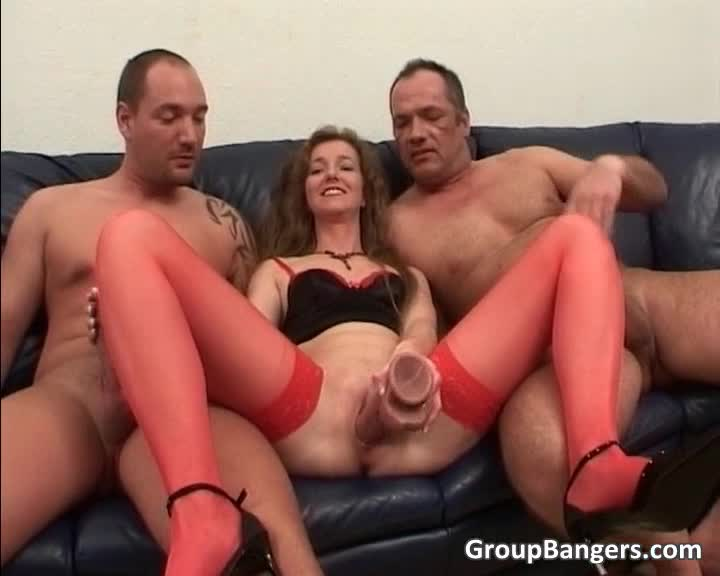 Banded gang Sexy older women getting