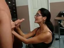 Workout then sex clip