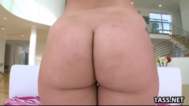 Her Aj stretched gets applegate ass