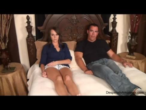 Naked virgin sitting on dick