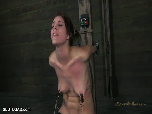 Alisha adams gets ass fucked and facefucked as a gauzewrapped torso 10