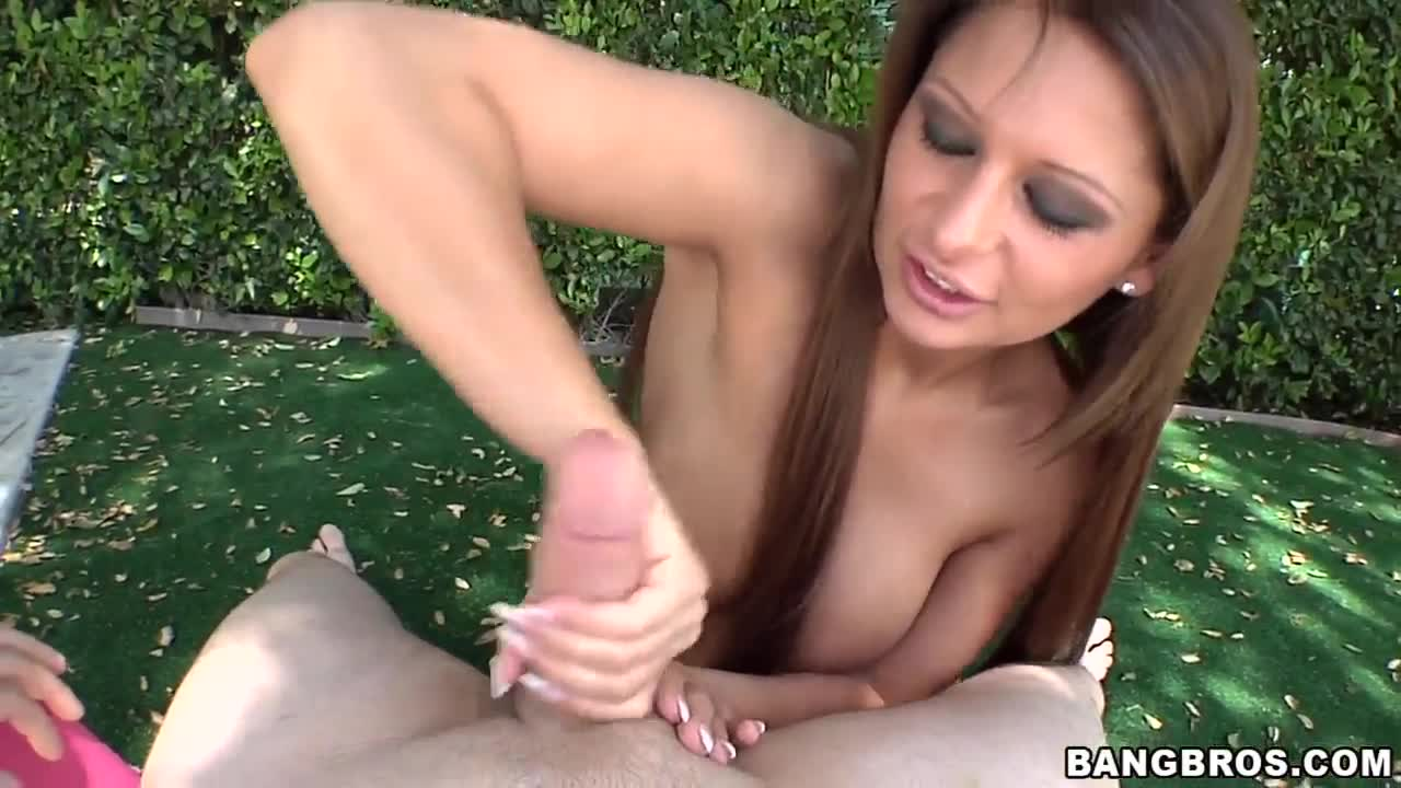 Multiple orgasm handjob video