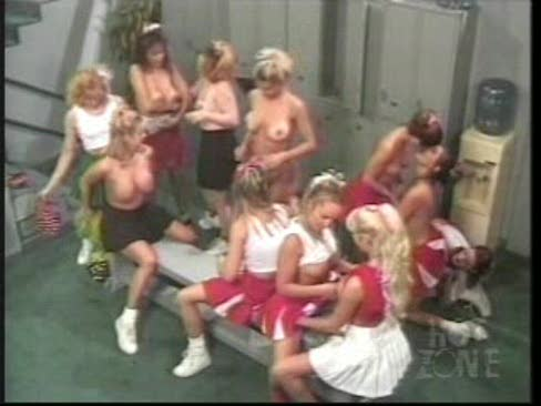 all girl orgy Cheerleader