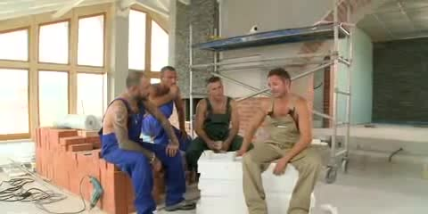 Alleta gangbanged by construction workers 6