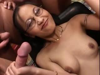 Gangbang Bukkake Porn