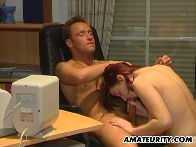 Steamy Office Sex