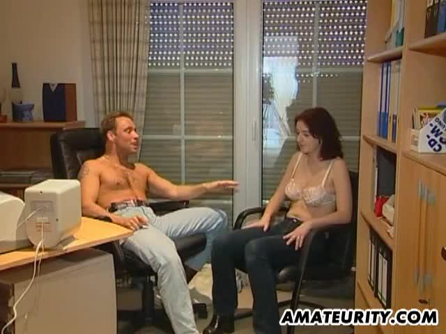 porn Amateur office sex