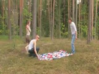 Amateur Danish Threesome In The Forest Xxxbunker Com Porn Tube