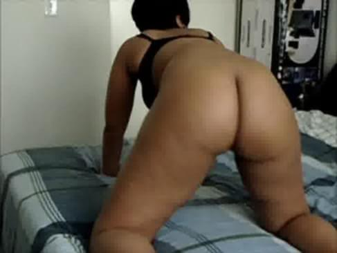 Ebony ass shake tube