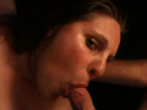 Exwife blowjob