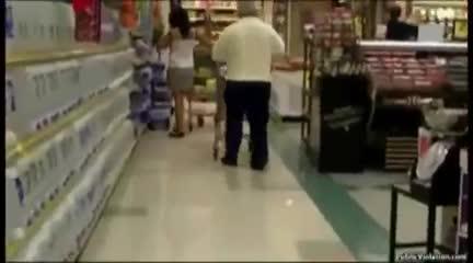 Fat teen girl pantsed video