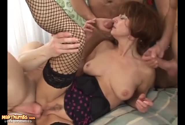Mature Amateur Foursome