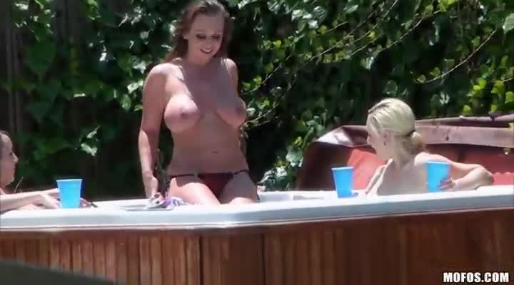 Big boob busty fattie