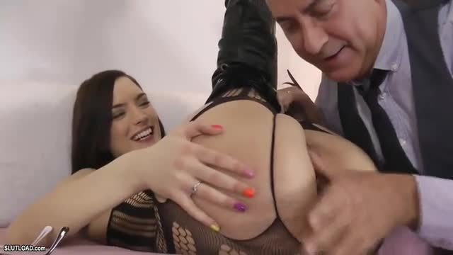 Teen rimmed and rammed