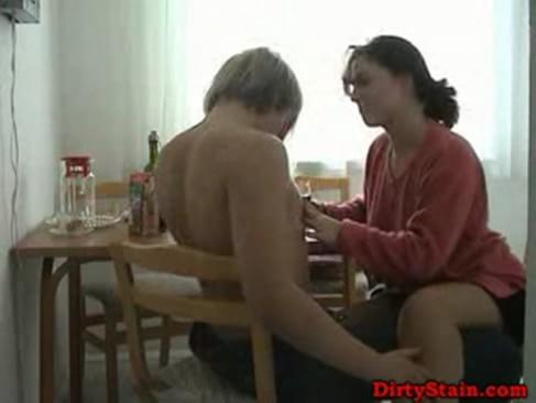 Housewife fucked boy tube