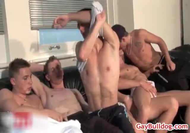 Astonishing all male foursome