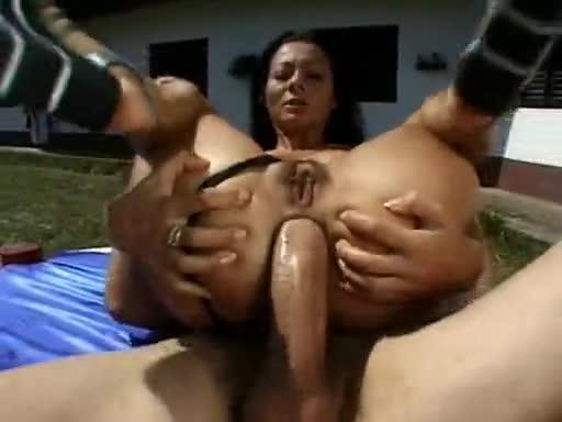Sandra romain anal gape