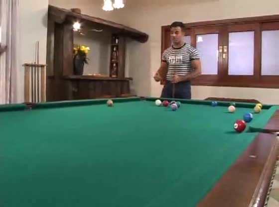 Anal Threesome Pool Table