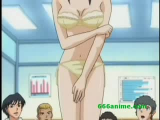 girl naked Anime stripped