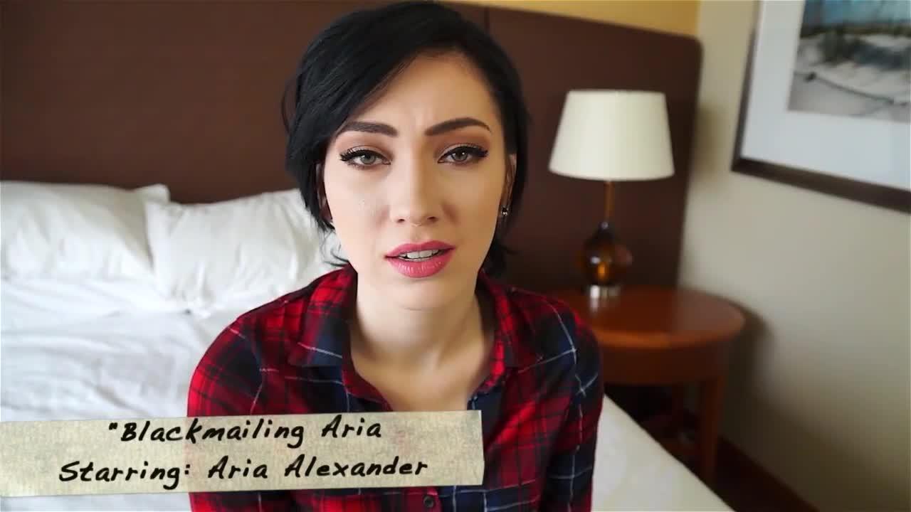 Aria Alexander Porn aria alexander blackmailing aria