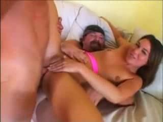 ashley blue takes double anal