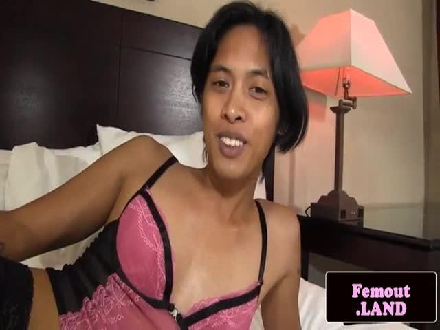 Asian amateur cock tugged