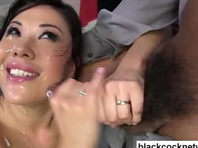 Girl gets many creampies
