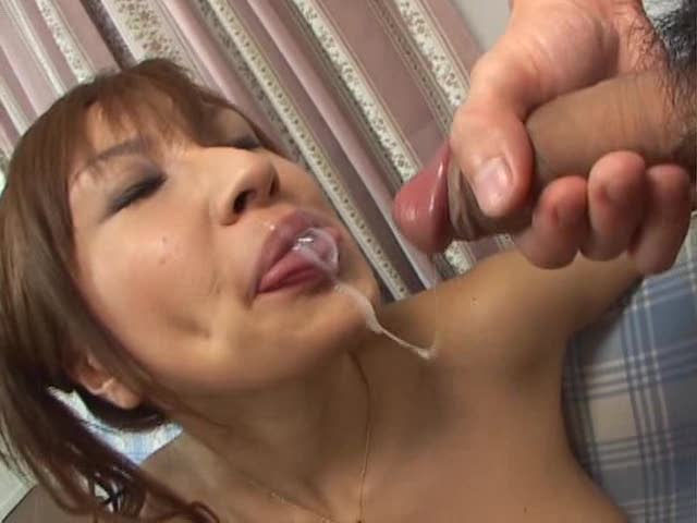 Asian massage cum in mouth