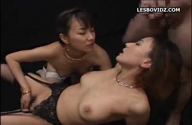 lesbian bukkake Asian