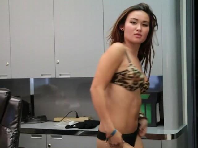 Busty Asian Milf Facial