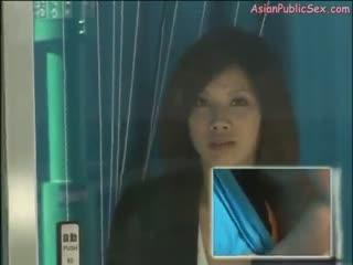 Asian window fucking