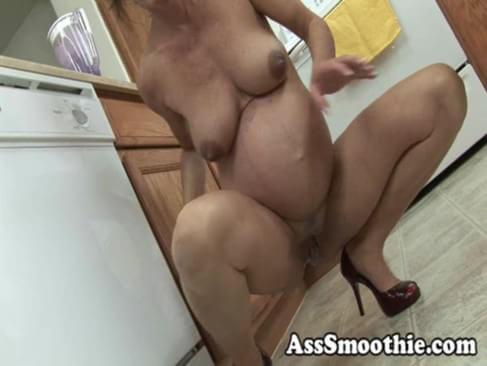 Pregnant Ass Smoothie 20