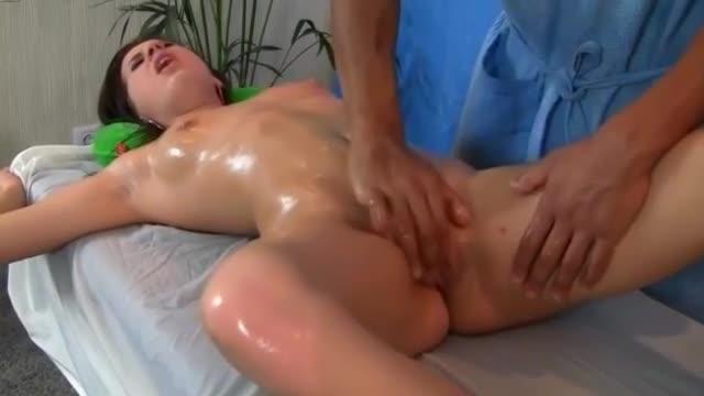 Body massage porn pic