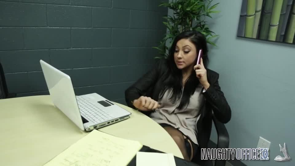 Audrey Bitoni office fucking