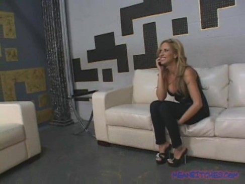 August Knight makes her slave lick her feet and asshole