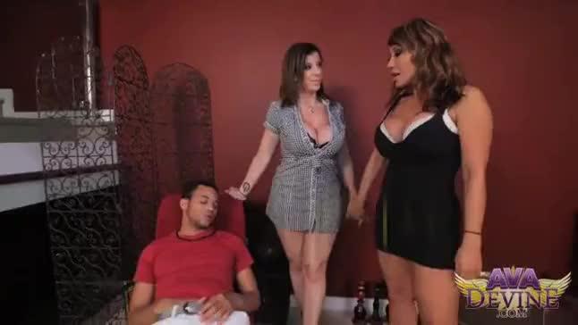 Tit fuck sexy bra