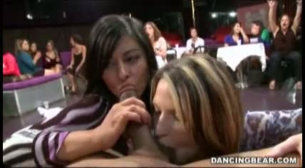 Cfnm party girls suck and fuck male strippers 7