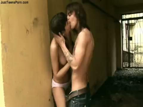 Sex in alley