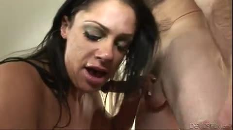 Janine lindemulder fucks tranny