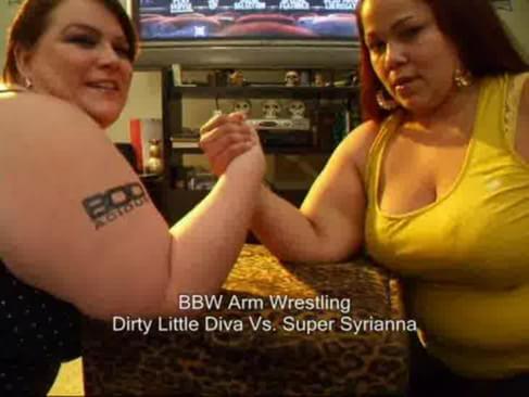 Bbw arm wrestling