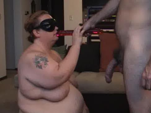 deepthroating a dildo