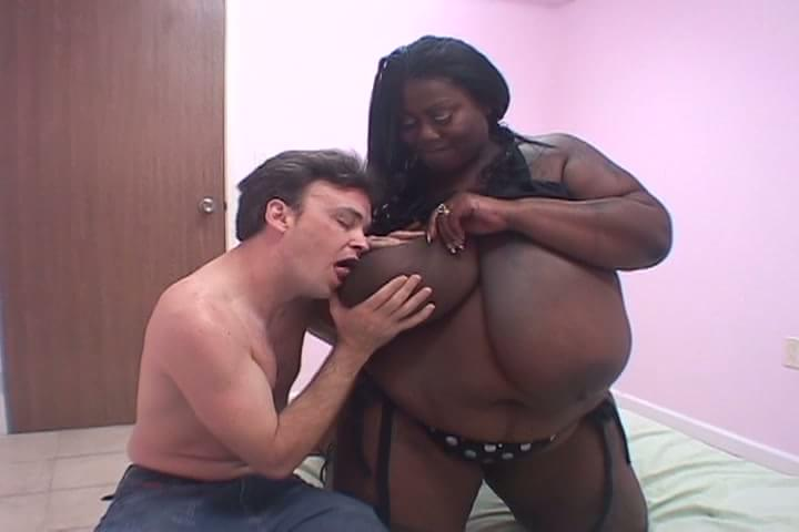 Black bbw and white guy porn
