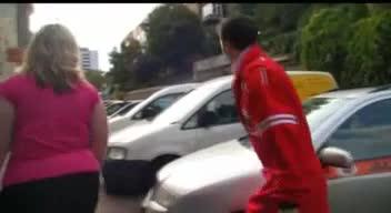 Bbw fucks car repair man